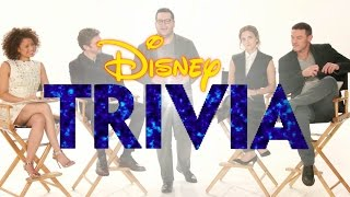 Beauty and the Beast Cast Plays Disney Trivia | Oh My Disney