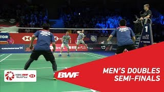 Download Video SF | MD | GIDEON/SUKAMULJO (INA) [1] vs AHSAN/SETIAWAN (INA) | BWF 2018 MP3 3GP MP4