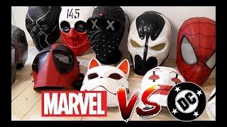- Моя коллекция Масок из вселенной Marvel DC и не только