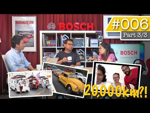 Torque Show #006 Pt.3: Driving from Malaysia to Germany, Liv