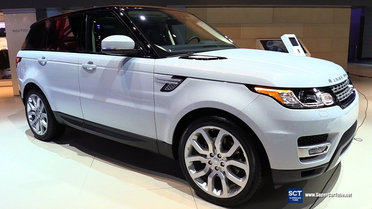 2017 Range Rover Hse Sport Td6 Exterior And Interior Walkaround 2016 La Auto Show You