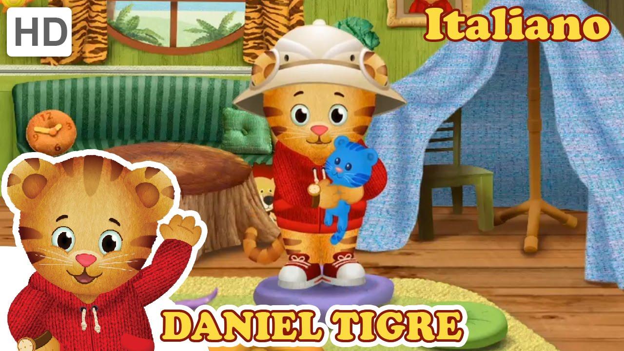 Daniel Tiger in Italiano - Caterina si Arrabbia e Daniel si arrabbia