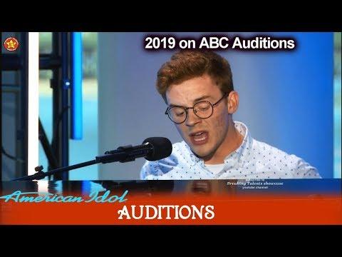 "Walker Burroughs ""Hello"" & ""Love Like This""  of Birmingham AL | American Idol 2019 Auditions"