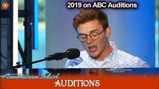 Walker Burroughs Hello Love Like This Of Birmingham AL American Idol 2019 Auditions - mp3 مزماركو تحميل اغانى