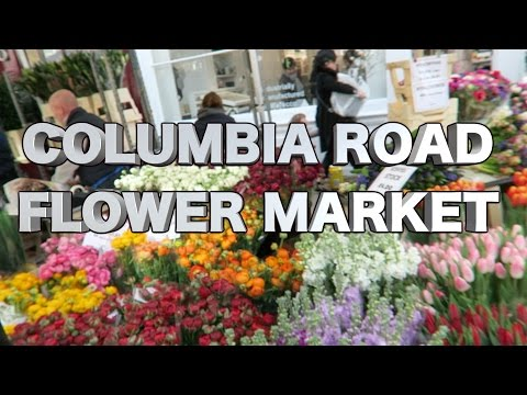 Columbia Road Flower Market - East London - Sunday