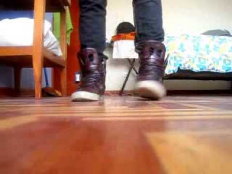 345df280b0 SUPRA SKYTOP II 2 dark brown full grain on foot - YouTube