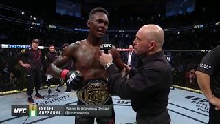 UFC 248: Адесанья vs Ромеро - Слова после боя