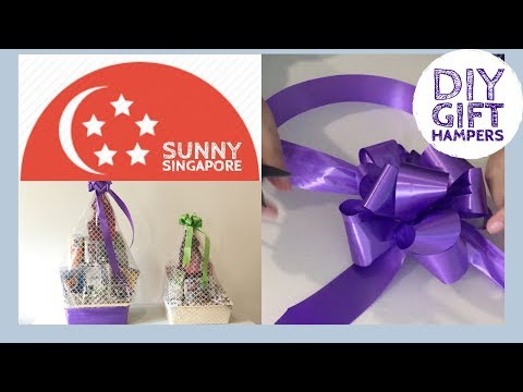 How to make Gift Hampers yourself- DIY