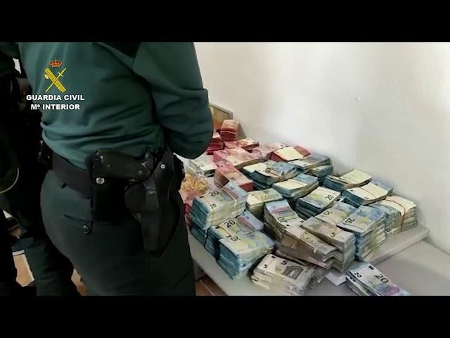 Desarticulada una organización criminal dedicada al cobro de deudas y al blanqueo de capitales