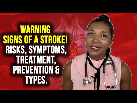 Warning Signs Of A Stroke Symptoms, Treatment, and Types [2019]