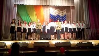 «Битва хоров - 2016», школа №62, «Казаки в Берлине»