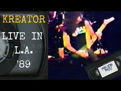 Kreator Live in Los Angeles CA 1989