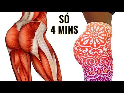 4 MINUTOS DE TREINO PARA AUMENTAR 12CM De BUMBUM! 8 Exercícios Para Pernas E Gluteos Em Casa