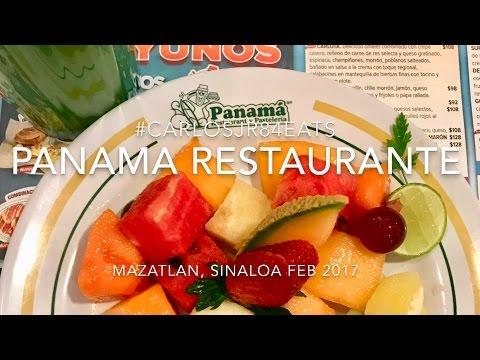 PANAMA RESTAURANTE Y PASTELERIA EN SINALOA, MEXICO  #carlosjr84eats
