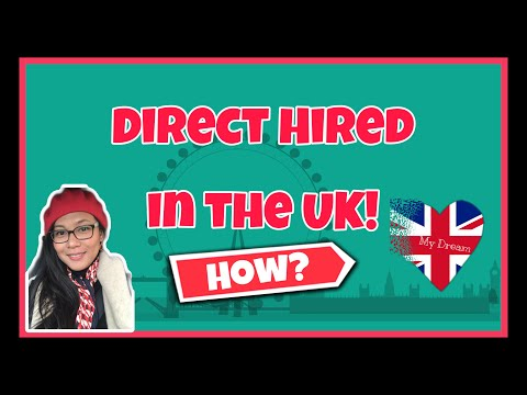 UK LIFE | How To Apply DIRECTLY  To UK | Medical Staff  From The Philippines