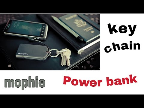 saamaan.pk Mophie Juice Pack Reserve Micro-Keychain Power Bank unbox review Hindi Urdu/ home tech