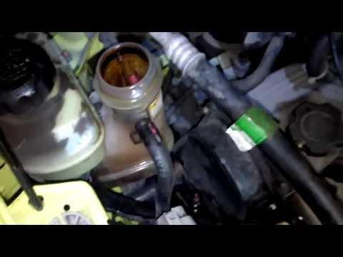Замена охлаждающей жидкости дэу матиз.
