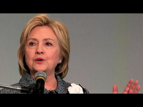 Hillary Clinton attends Tulsa town hall meeting