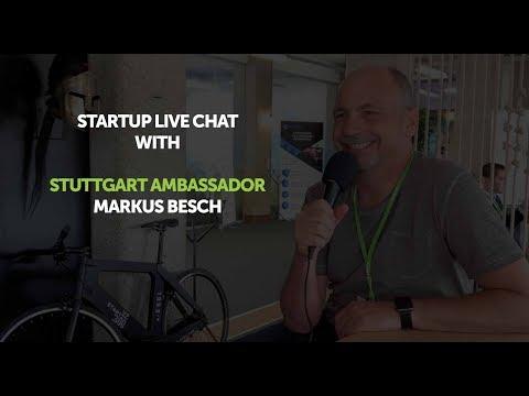 Startup Live chat with Stuttgart Ambassador Markus Besch