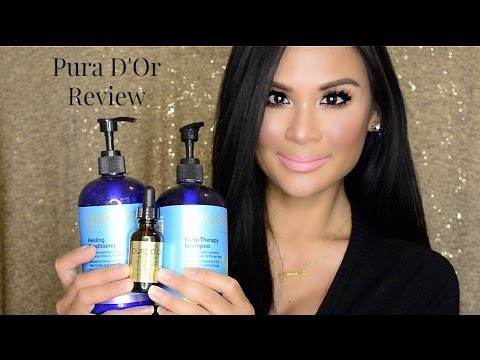 Pura D'or: Organic Hair Care! Dry Scalp Shampoo, Healing Conditioner, Argan Oil