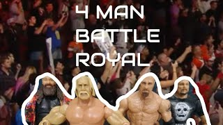 Bray Wyatt vs Goldberg Stone cold Steve Austin and Hulk Hogan fatal four way
