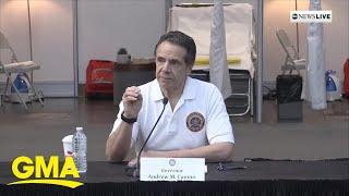 New York State Governor Cuomo says the novel coronavirus will 'change the nation'