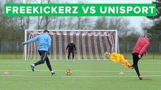 FREEKICKERZ vs UNISPORT: Epic two-touch finishing challenge