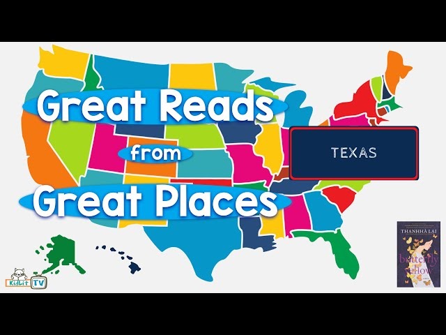 Great Reads from Great Places Thanhhá Lai's BUTTERFLY YELLOW Texas