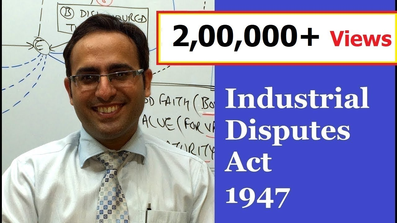 Industrial Disputes Act 1947 Bare Act Pdf