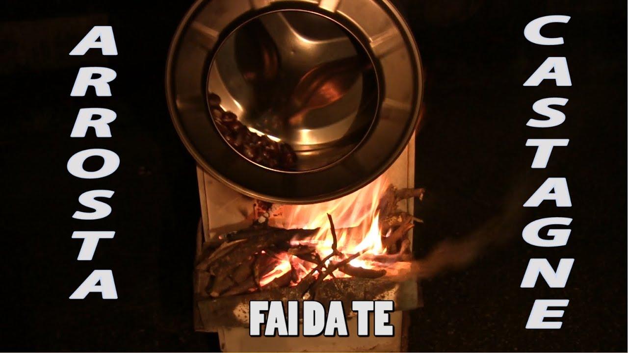 Arrosta castagne elettrico fai da te | Come cucinare le castagne ...