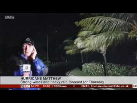 Hurricane Matthew about to strike the Bahamas after killing 16 in Haiti and the Dominican Republic