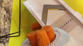 Mandolin: Cutting Carrots aฑd Potatoes