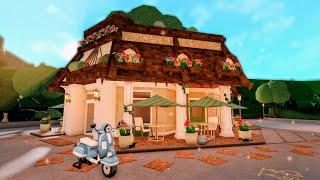 Building a Fancy Restaurant in Bloxburg w/ Anix & Faulty