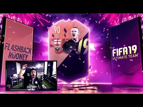 I GOT 90 FLASHBACK ROONEY!! FUTURE STARS PACKED!! FIFA 19