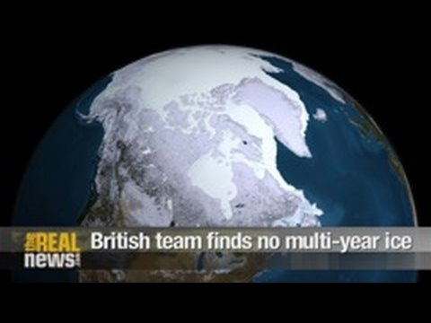 British team finds no multi-year ice