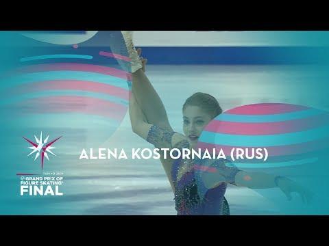 Alena Kostornaia (RUS) | Ladies  Free Skating | ISU GP Finals 2019 | Turin | #GPFigure