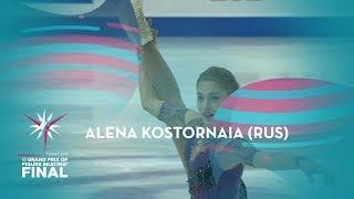 Alena Kostornaia RUS Ladies Free Skating ISU GP Finals 2019 Turin GPFigure
