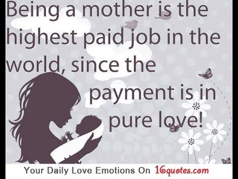 Being A Mother Quotes Youtube