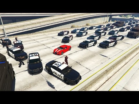 GTA 5 REALISTIC POLICE Chase Mod! (Epic Mods)