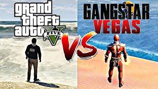 GTA V VS Gangstar Vegas  | COMPARISON (in Depth) 2019