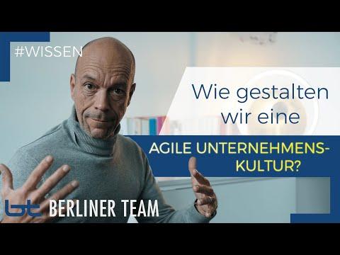 Agile Unternehmenskultur: Wie gestalten wir diese? | Oliver Grätsch | berliner team