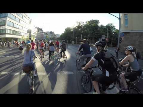 Critical Mass Düsseldorf - Juli 2015