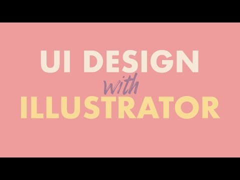 How to design user interfaces in Adobe Illustrator CC