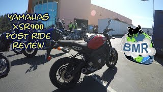 Yamaha XSR900 Review: The Blue Marble Rider