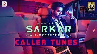 Sarkar Caller Tunes Codes | A R Rahman | Vijay, Keerthy Suresh | Tamil Songs 2018 | Rahman Hit Songs