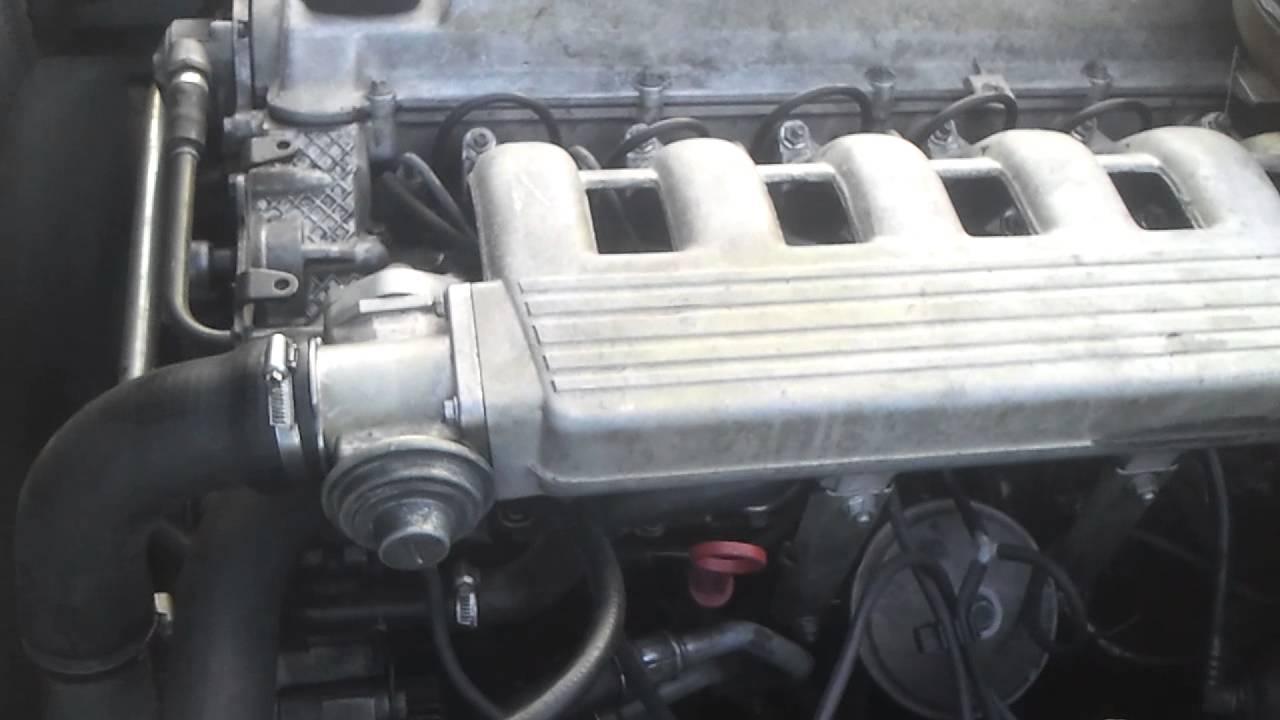 BMW E34 525 TDS Engine problem  YouTube
