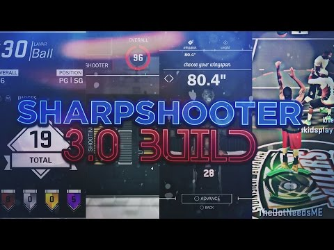 NEW SHARPSHOOTER 3.0 BUILD!!! VERY QUICK RELEASES, FAST SPEED, DOMINANT SHOOTING IN NBA 2K17!!!