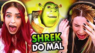 O SHREK VIROU DO MAL!!! (ft. Bruna Gomes)