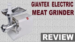Best Meat Grinder 2018 | Giantex Electric Meat Grinder Review (NEW)