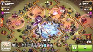 3 star th11 attack on almost max th11